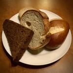 ドイツ居酒屋 JSレネップ - 土日ランチセットのパン