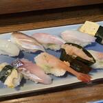 浜寿司 - 料理写真:地魚にぎり