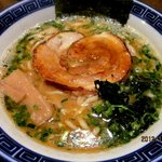 らー麺 にしかわ - みそラーメン!(2012,11/10)