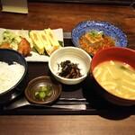 和食居酒屋 咲くら - 「チキン南蛮・明太出汁巻き卵&麻婆豆腐」