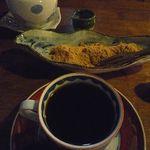 蝉丸 - わらびもちとコーヒー