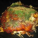 ぱるじゅ - 料理写真:広島焼き 豚肉 そば入り + チーズ