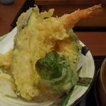15803261 - 「親子わっぱ膳」の天ぷら