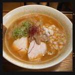 ようすけ 鶏煮亭 - 料理写真:濃厚鶏辛味噌らーめん 900円
