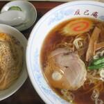 辰巳庵 - 料理写真:ラーメンセット(ミニカツ丼)