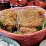 つかふき屋 - 鶏づくし御膳の鶏唐揚