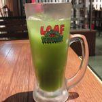リーフキッチン - アイス柚子緑茶