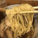 渡なべ - 中太ストレート麺