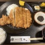 とんかつ清竹 - 料理写真:特ロースかつ定食