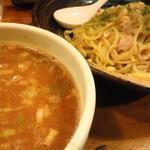 鶏の穴 - 2012年11月限定麺 カニQ アップ