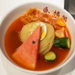 盛楼閣 - 料理写真:2021.9 盛岡冷麺 中辛(1,000円)