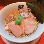 Muginawaya - 料理写真:鴨だし縄紋 鴨だしそば(醤油)