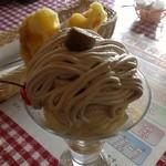 レストランカリーノ - マロンパフェ