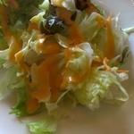 レストランカリーノ - セットのサラダ