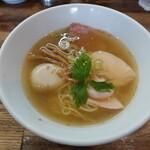 麺屋 一八 - 薫しお(880円)