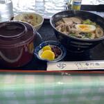 石川楼 - 料理写真:蕎麦定食
