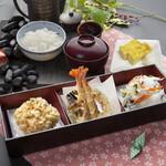 天ぷら つな八 - 季節ランチ  小箱セット