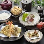 天ぷら つな八 - 季節ランチ  上天ぷら定食