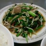 中華料理 喜楽 - レバニラライス 700円(750円から値下げ中)