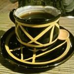 カフェナトゥーラ - ホットコーヒー、カップが面白いです