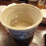 かしわ屋 - 焼酎 お湯割り