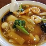 銀座 天龍 - 広東麺。