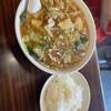 明記大陸食堂 - 料理写真:チャンポンメン、ライス!
