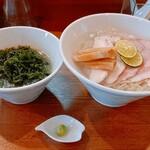 コトノハ - 料理写真:海の潮つけ麺