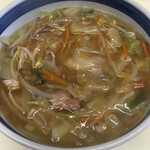 三味園 - 料理写真:チャンポン   710円なり (和風名義じゃない)