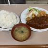 フジランチ - 料理写真:デミグラチキンカツご飯大盛980円