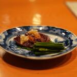 日本料理 たかむら - たかむら流レバニラ