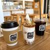 瓦テラス - ドリンク写真:キャラメルナッツパフェ、ドリップコーヒー(HOT/ICE)