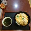 信濃追分蕎麦 初台庵 - 料理写真:カツ丼、600円。