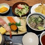 良寿し - 料理写真:寿司にぎりランチ 1,210円