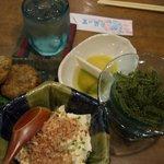 舟蔵の里 - どぅる天、ゆし豆腐、海ぶどう