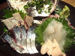 九州の地魚料理 侍 浜松町店 - 080328刺身盛