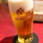 ローマ軒 - エビスビール