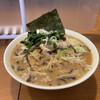 らあめん藤浪 - 料理写真:にんにく味噌ラーメン大盛(太麺)900円