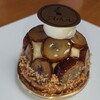 葦 - 料理写真:栗のクリームパイ