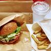 パン ド サンジュ - 料理写真:ハンバーガーセット