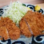 看貫場 - ヒレ&ロースカツ2021.09.13