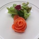 15812045 - 前菜・サーモンマリネ