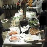 カフェ ラ・ボエム - 201211 ボエム Buffet台