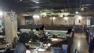 カフェ ラ・ボエム - 201211 ボエム 店内(左奥が化粧室(笑)