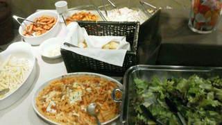 カフェ ラ・ボエム - 201211 ボエム Buffet台(ショートパスタもあります)