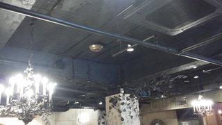 カフェ ラ・ボエム - 201211 ボエム 天井