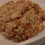 中国料理 シルクロード - にんにく炒飯