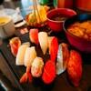 北々亭 - 料理写真:彩御膳(¥990)。 某居酒屋さんの寿司御膳よりお得なセットがあるとは驚き。
