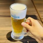 幸永 - キンキンのグラスを片手に!