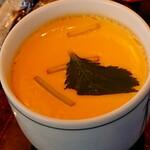 北々亭 - 茶碗蒸し。 プルプルですし出汁の味が効いております。